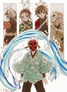 """あける on Twitter: """"水の呼吸… """" Anime Demon, Anime Manga, Anime Art, Arte Ninja, Familia Anime, Dragon Slayer, Anime Kunst, Slayer Anime, Fantasy World"""