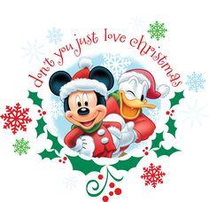 Countdown to christmas! ~Mickey #Donald