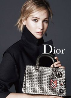 Dior Accessories Fall Winter 2015 campaign - Jennifer Lawrence - David Sims
