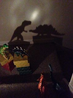Dinovember 2014 Day 21: Shadow puppets