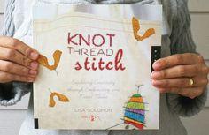 A Little Hut - Patricia Zapata: inspiration: knot thread stitch