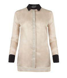 Shield Silk Shirt, Women, Shirts, AllSaints Spitalfields