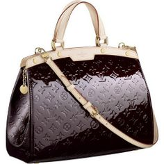 Louis Vuitton Monogram Vernis Brea Gm M91616 Aob