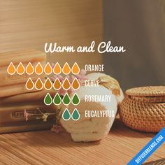 and Clean — Essential Oil Diffuser BlendWarm and Clean — Essential Oil Diffuser Blend Fall Essential Oils, Clove Essential Oil, Essential Oil Diffuser Blends, Essential Oil Uses, Essential Oil Combinations, Diffuser Recipes, Aromatherapy Oils, Lotion, Cleaning Oil Diffuser