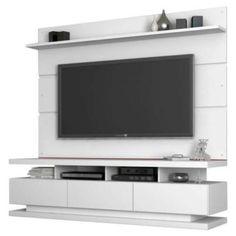 rack branco para sala de tv