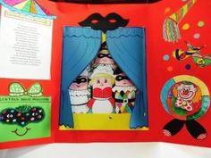 Il carnevale è considerato la festa dell'allegria per eccellenza, liberiamo la fantasia dei bambini con la costruzione di un lapbook, dove possono dar voce alla loro creatività attraverso il teatro delle maschere italiane.