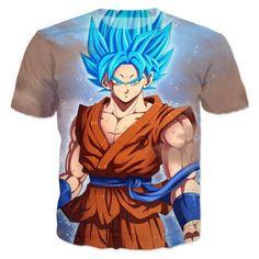 Dragon Ball Z Goku Super Saiyan Kanji T-Shirt