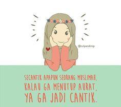 Tutuplah auratmu Cartoon Quotes, Cartoon Art, Hijrah Islam, Islamic Cartoon, Anime Muslim, Islamic Qoutes, Learn Islam, Cute Notes, Muslim Girls