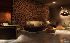 Rustic Interior Wall Covering | Need some visual inspiration? Take a look at a few of these modern ...