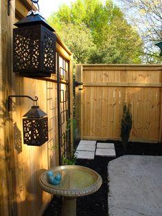 My Pinterest inspired Asian/Minimalist patio.