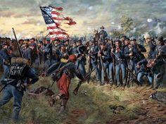 1st Minnesota at Gettysburg — Don Troiani