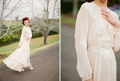 1940s Bridal Style | Jodi McDonald Photography | http://burnettsboards.com/2013/11/celebration-bridal-fashion-decades/