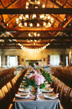 Rustic Elegance - Lots of charming touches in this wedding. See more here: http://www.stylemepretty.com/2014/05/30/whimsical-nebraska-city-barn-wedding/ #SMP - Photography: DanaDamewood.com
