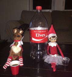Share a Coke with your elves