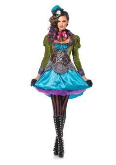 This Mad Hatter costume can really be described as