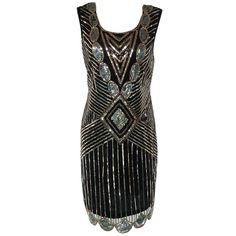Sequined Chrismas Party Dance Dress