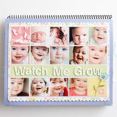 Baby's First Year Calendar Create a Collage
