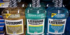 Listerine can be used for something besides your standard bacteria destroying swishes. You can utilize Listerine for your skin, hair and medical problems. Listerine Feet, Listerine Cool Mint, Holistic Remedies, Herbal Remedies, Natural Remedies, Foot Soak Recipe, Foot Odor, Hair Loss Remedies, Medical Problems