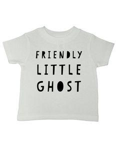 17f9115d342d8b Friendly Little Ghost Halloween T-Shirt