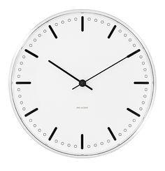 照明・雑貨:アルネヤコブセン シティホールクロック(壁掛け時計) / アルネ・ヤコブセン  北欧家具・雑貨のインテリア通販ショップ - morphica