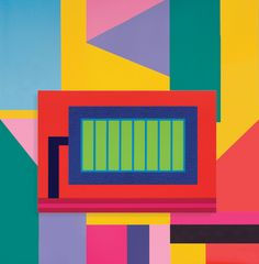 Peter Halley and Alessandro Mendini at Mary Boone Gallery