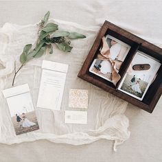 """Regram from @sincerelyamanda of her beautiful photos in our #makeandstow photo box in the Caraway finish. Love her packaging!"""