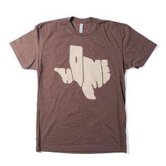 Texas Is My Home Men's Shirt