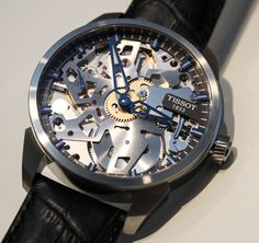 Tissot T-Complications Squelette Modern Skeletonized Watch