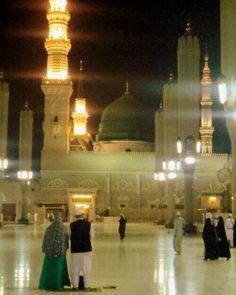 My love Madina Al Masjid An Nabawi, Masjid Al Haram, Medina Mosque, Pillars Of Islam, History Of Islam, Mekkah, Beautiful Mosques, Islamic Architecture, Madina