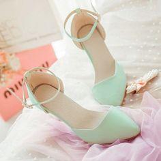 mode cool süße sandalen spitze hoch- stöckelschuhe sexy mintgrün gentlewomen alle- Spiel frauen dünne heels schuhe heißer verkauf