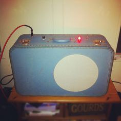 Suitcase Tube Amp - Salvage Custom Shop