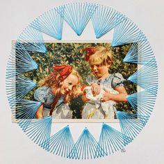 Portraits - Petra Heidrich Kostümdesign Braunschweig Stitching On Paper, Petra, Paper Embroidery, Old Paintings, Textile Artists, Art Portfolio, Handmade Home, Art Plastique, Portrait