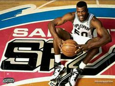 "David Maurice Robinson (born August 6, 1965) is a retired American professionalbasketball player, who played center for theSan Antonio Spurs in the National Basketball Association (NBA) for his entire career. Based on his prior service as an officer in the United States Navy, Robinson earned the nickname ""The Admiral"". Robinson is a 10-time NBA All-Star, the 1995NBA MVP, a two-time NBA Champion (1999 and 2003), a two-time Olympic Gold Medalwinner (1992, 1996), a two-time Naismith Memorial…"