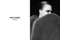 Cara Delevingne for Saint Laurent Couture