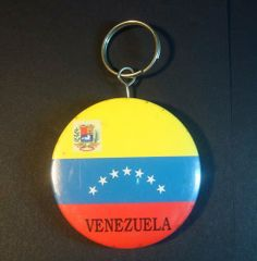 Set of 5 Venezuela Flag Keychain/bottle opener . $9.99