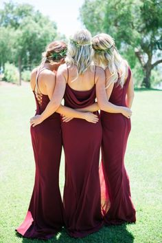 b942b5c0b6a Meet Katie May! Burgundy Bridesmaid DressesWine Color Bridesmaid DressBurgundy  ...