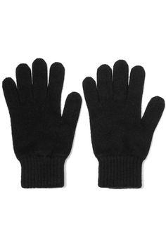 Johnstons of Elgin - Cashmere Gloves - Black - one size