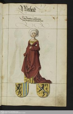 I didn't save the manuscript information, can anyone help me identify it? All my german manuscript bookmarks seem to be broken or 404 errors. Renaissance Clothing, Medieval Fashion, Renaissance Art, Tudor Costumes, Medieval Costume, Medieval Gown, Pirate Costumes, 16th Century Clothing, 16th Century Fashion