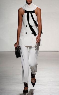 Best of New York Fashion Week Spring Summer 2016 Proenza Schouler Look 1 on Moda Operandi