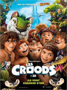 Lorsque la caverne où ils vivent depuis toujours est détruite, les Croods se retrouvent obligés d'entreprendre leur premier grand voyage en famille. Entre conflits générationnels et bouleversements sismiques, ils vont découvrir un nouveau monde fascinant, rempli de créatures fantastiques, et prendre rapidement conscience que s'ils n'évoluent pas… ils appartiendront à l'Histoire.  Bande-annonce : http://www.cinemovies.fr/film/les-croods_e452662/videos/1/m344757