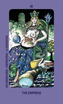 Queen of Swords: Jolanda Tarot Deck