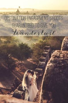 The best of destination engagement photo shoots from The Wedding Scoop // Destination Engagement Shoots Guaranteed to Give You Wanderlust: Part 1