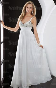 white prom dresses - Google Search