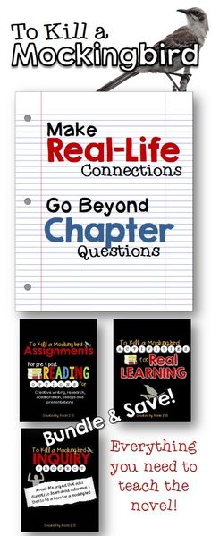 Everything you need to teach the novel--pre and post reading activities, a full unit lesson plans and an inquiry unit. Bundle and save!