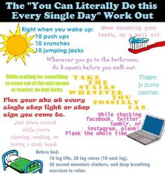 Easy Every Single Day Workout Thats Works!