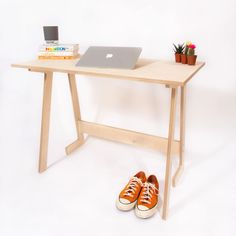(1) The WFH Desk - Folding Computer Desk For Your Home Office - Deskmate