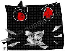 chat création supajosh paris pour t shirt ou autre support coton supajosh.fr