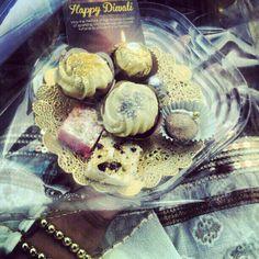 #Diwali trays #RedVelvet #Burfee #CakeCakeCake I bake baby!