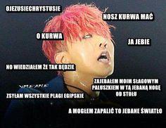 K Meme, Funny Kpop Memes, Bts Memes, Polish Memes, Im Not Ok, K Pop, Bigbang, Haha, Humor