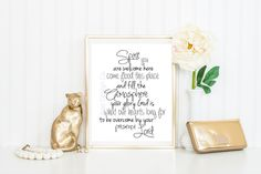 HOLY SPIRIT YOU ARE WELCOME HERE COME FLOOD THIS PLACE AND FILL THE ATMOSPHERE YOUR GLORY GOD IS WHAT OUR HEARTS LONG FOR TO BE OVERWHELMED BY YOUR PRESENCE LORD. Printable Download God Jesus Bible Verse Song Christian Picture Frame Wall Art Lettering Decor Inspiration Marriage Wedding Gift Quote Decoration. Easy. Tutorial Diy Print House Home Photo  favorite from my Etsy shop https://www.etsy.com/listing/271678656/holy-spirit-you-are-welcome-here-come